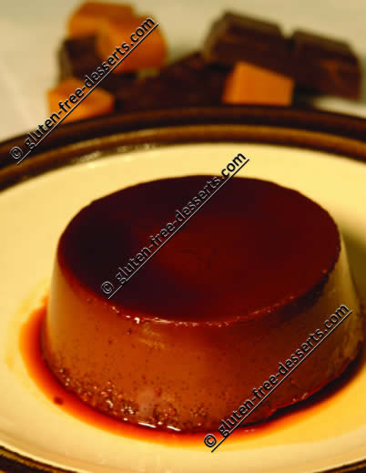 Gluten Free Chocolate Cream Cheese Flan Recipe For Gf Celiac Wheat Free Diets Gluten Free Desserts Com Free Recipes Library