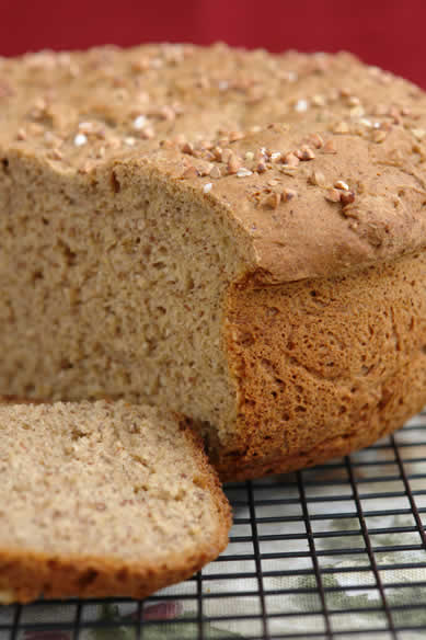 Gluten-Free Dairy-Free Brown Honey Bread