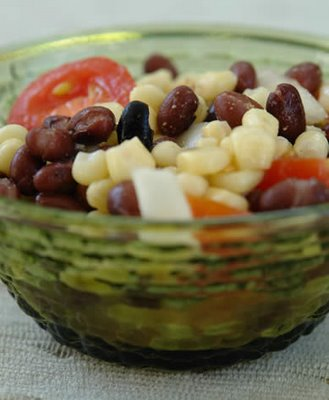 Gluten-Free Black Bean, Corn, and Tomato Salad