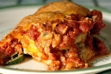 Gluten-Free Vegetable Polenta Lasagna