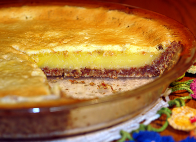 Gluten-Free Lemon-Bar / Lemon-Custard Pie